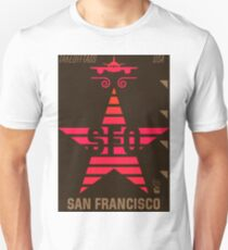 SFO California San Francisco  Unisex T-Shirt