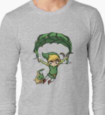 Legend Of Zelda - Flying Away Long Sleeve T-Shirt