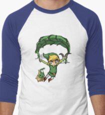 Legend Of Zelda - Wegfliegen Baseballshirt für Männer