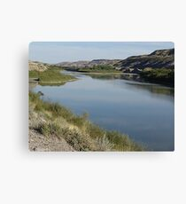 Red Deer River Valley Canvas Print