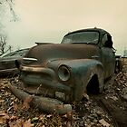 Abandoned 1954 Chevy 3100 by mal-photography