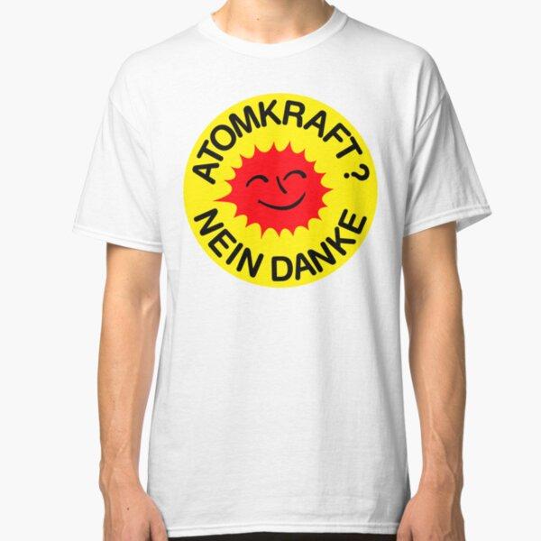 Atomkraft nein Danke Classic T-Shirt