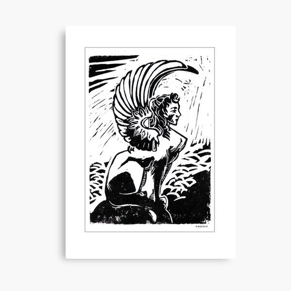Sphinx Impression sur toile