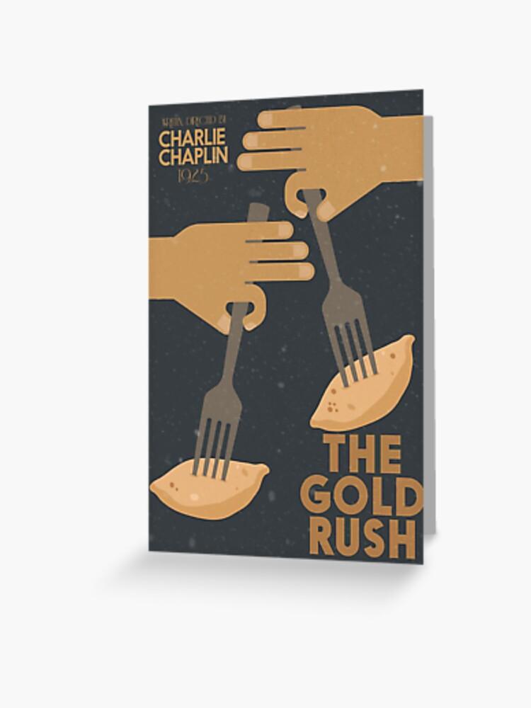 Charlie Chaplin movie poster print 4 1925 The Gold Rush