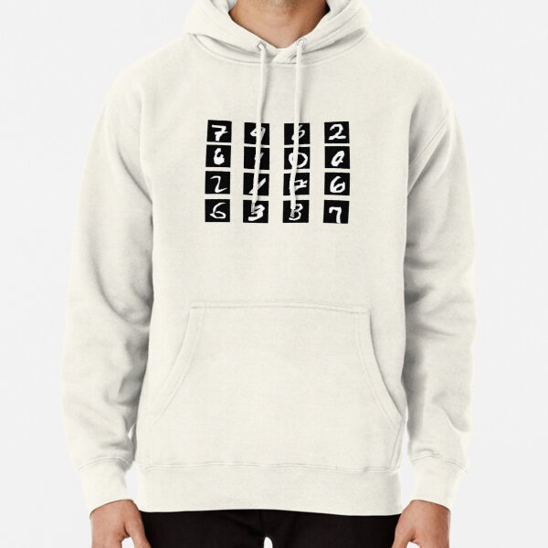 AI – MNIST Pullover Hoodie