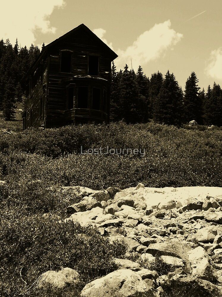 Old Mining House by LostJourney