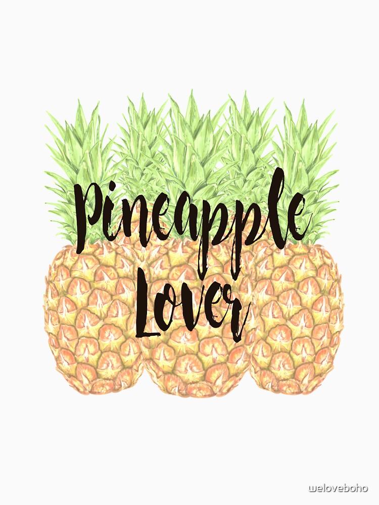 Pineapple Lover de weloveboho