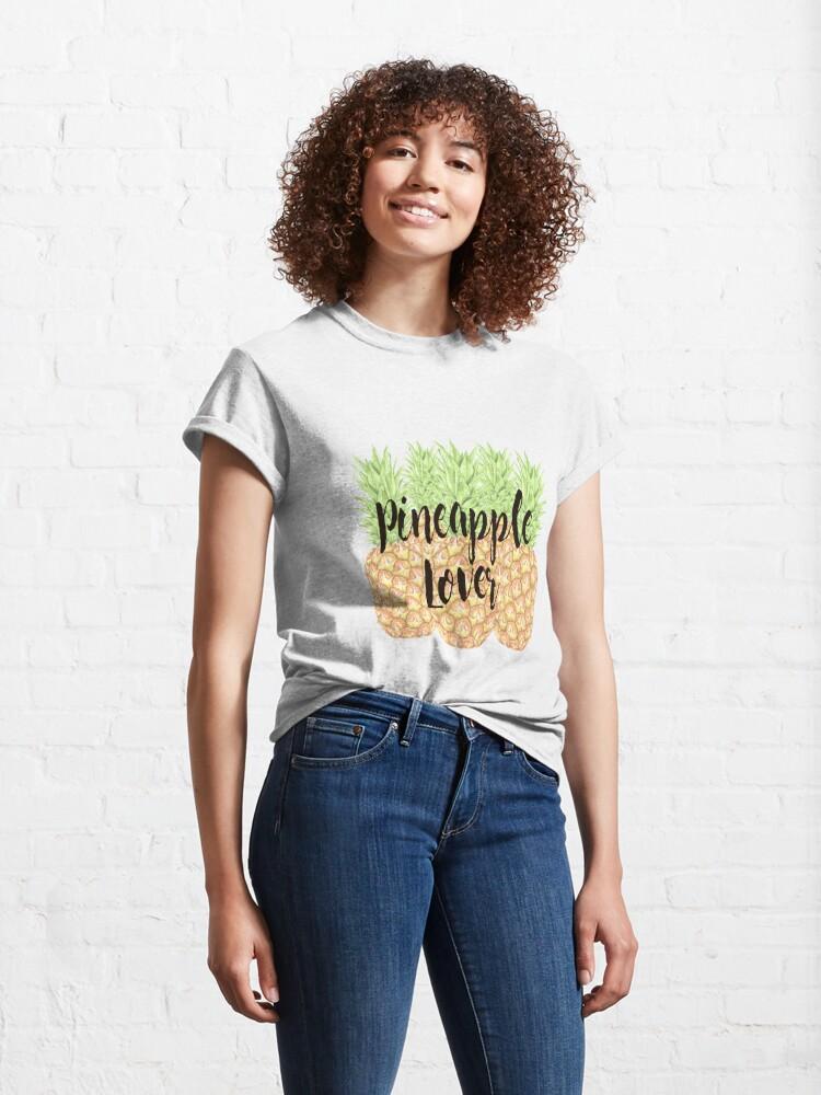 Vista alternativa de Camiseta clásica Pineapple Lover