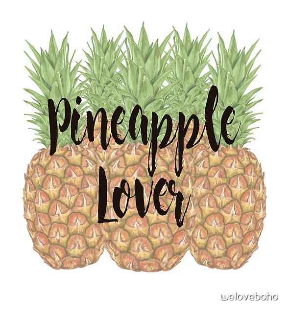 Pineapple Lover by weloveboho