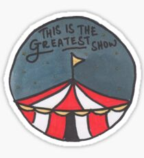 The Greatest Show (Night) Sticker