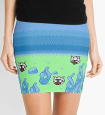 Under the Seas of Johto Mini Skirt