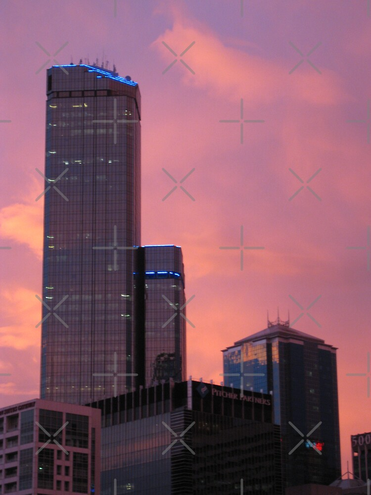 Rialto Tower @ Dusk by Catherine C.  Turner