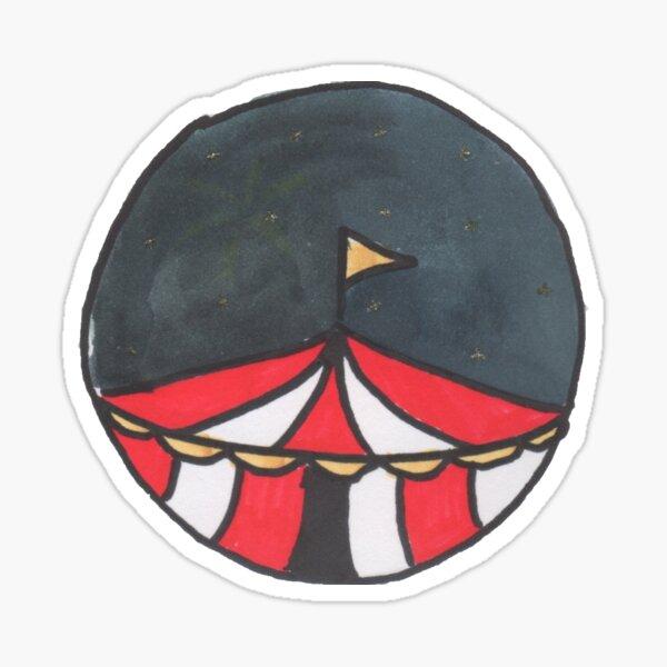 The Circus Sticker