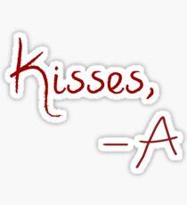 Kisses, A Sticker