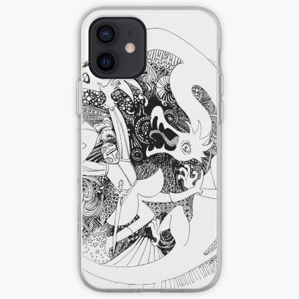 Le Chevalier au Dragon Coque souple iPhone
