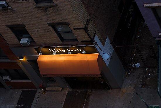 Little Basil, Broadway Alley by Judith Oppenheimer