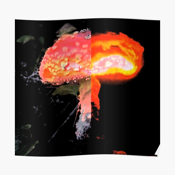 Nuclear Mushroom Poster