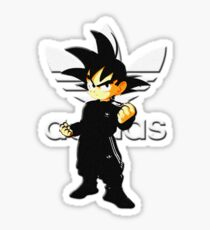 Goku Coats Sticker
