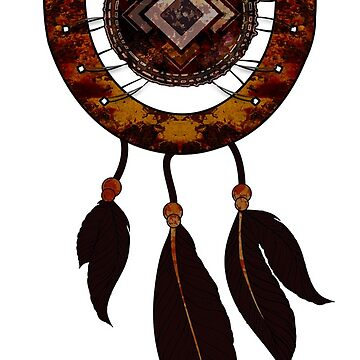 Dream-catcher Horseshoe with Feathers by ddtk