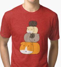 Guinea Pig Stack Tri-blend T-Shirt