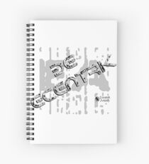 Be Ecentrik (Marble) Spiral Notebook