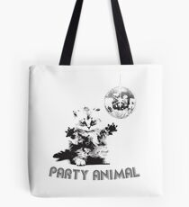 Party Animal Cat Tote Bag