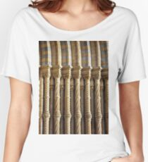 Natural History Museum Architecture (Detail) Women's Relaxed Fit T-Shirt