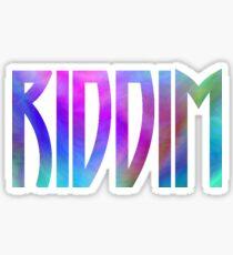 Riddim Logo Sticker