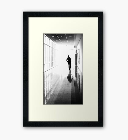 Being Alone Doesn't Mean You're Free Framed Print