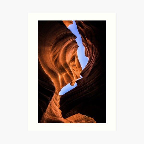 Canyon Curve Art Print