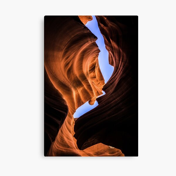 Canyon Curve Canvas Print