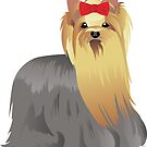 Yorkshire terrier by Marina Sterina