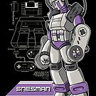 SNES Man by MeleeNinja