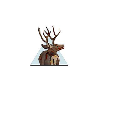 Triangle deer by waarpys