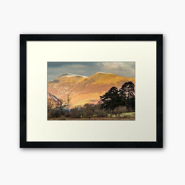 Skiddaw - English Lake District Framed Art Print