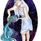 Aquarius Water Bearer by DReneeWilson