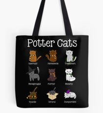 Harry Pawter Cute Kitten Potter Cats Tote Bag