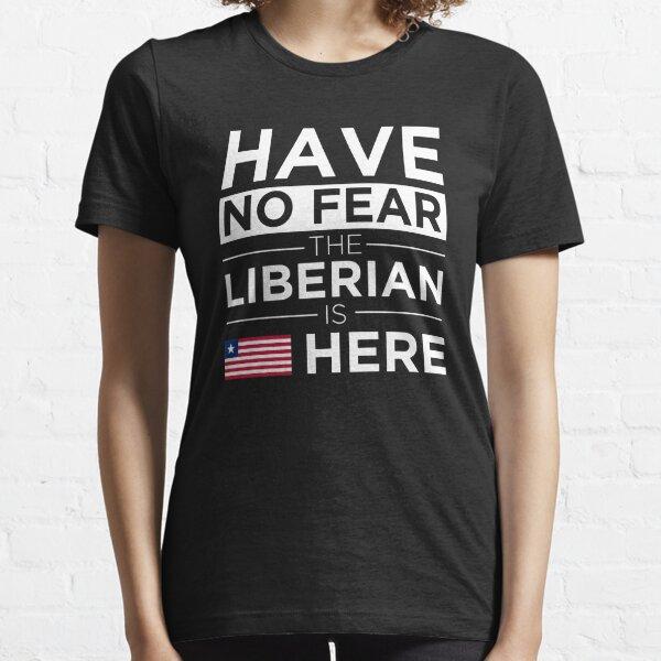 Liberia text T-Shirt