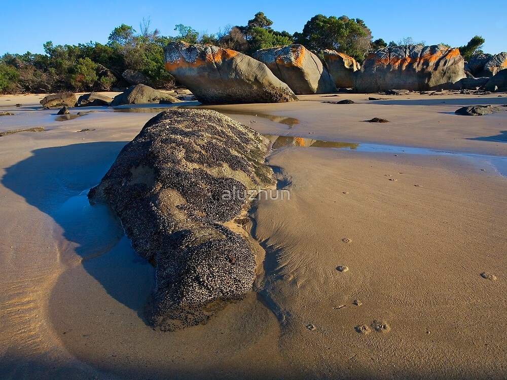 Beach Rocks by aluzhun