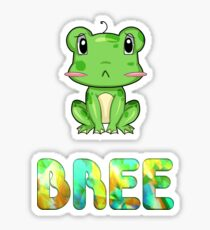 Bree Frog Sticker