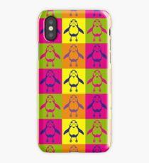 Warhol Porg iPhone Case/Skin