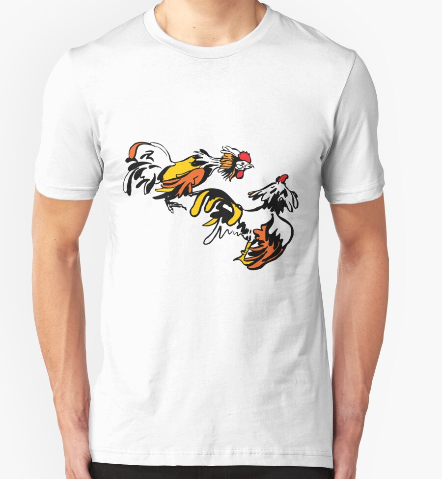Cock Fighting T Shirts 49