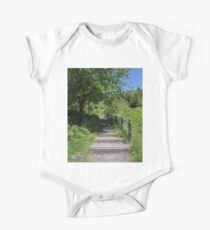 Countryside Staircase One Piece - Short Sleeve