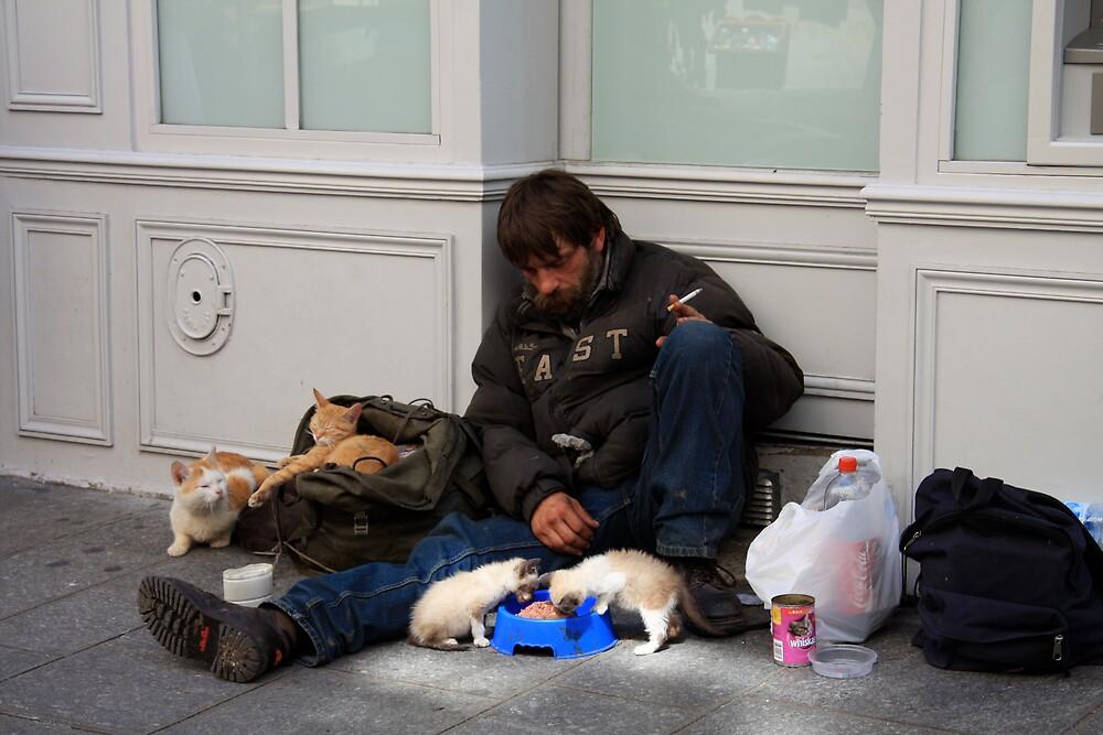 Destitute on Ilest Louis by stjc