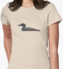 Common Loon Women's Fitted T-Shirt