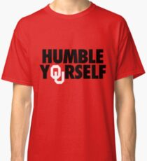 Humble Yourself (Black/White) Classic T-Shirt