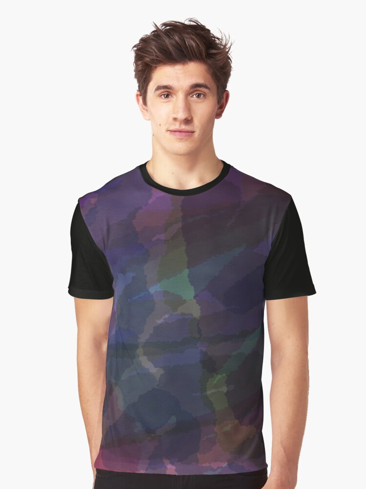 CAMOUFLAGE LILAC Graphic T-Shirt Front