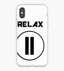 Pause & Relax iPhone Case