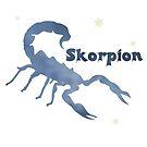 Sternzeichen Skorpion - klein by NafetsNuarb