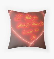 Heart to Heart Throw Pillow